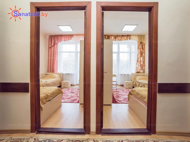 Санатории Белоруссии Беларуси - санаторий Солнечный - двухместный в блоке (2+2) стандарт (главный корпус)