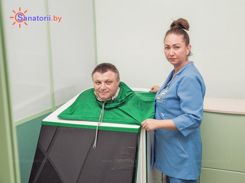 Санатории Белоруссии Беларуси - санаторий Солнечный - Ванна сухая углекислая