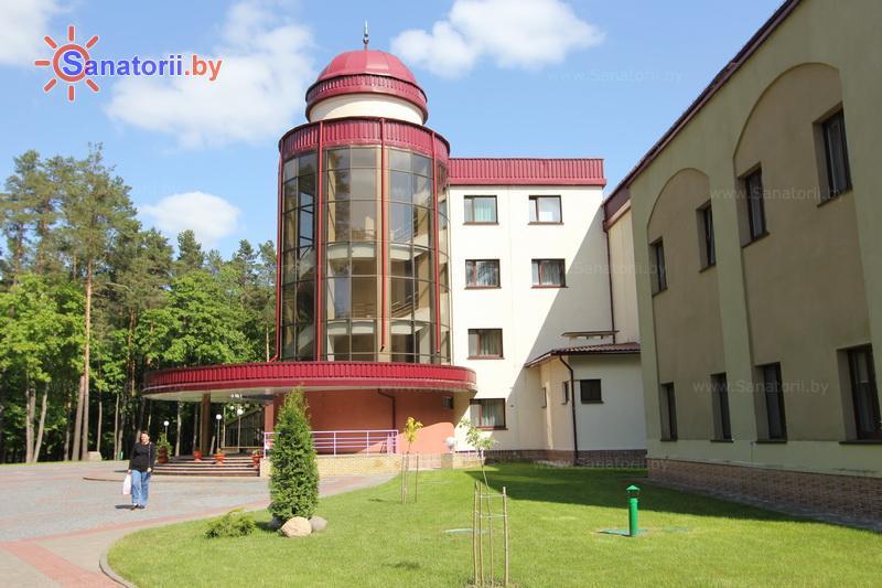 Санатории Белоруссии Беларуси - санаторий Свитязь - главный корпус