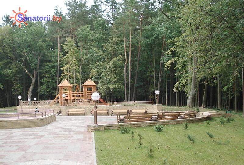 Санатории Белоруссии Беларуси - санаторий Свитязь - Детская площадка