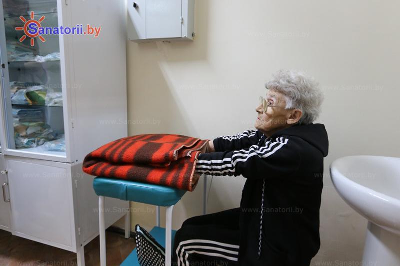 Санатории Белоруссии Беларуси - санаторий Свитязь - Озокерито-парафинолечение