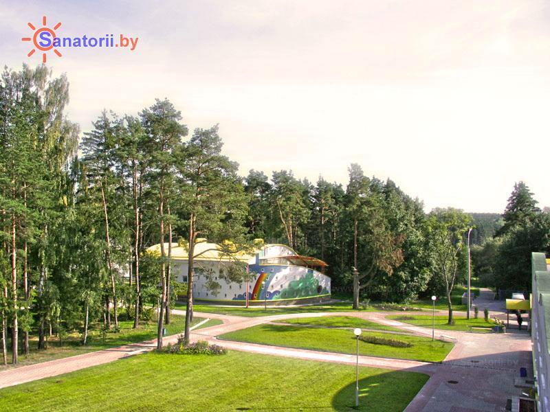 Санатории Белоруссии Беларуси - оздоровительный комплекс Ракета - Территория и природа