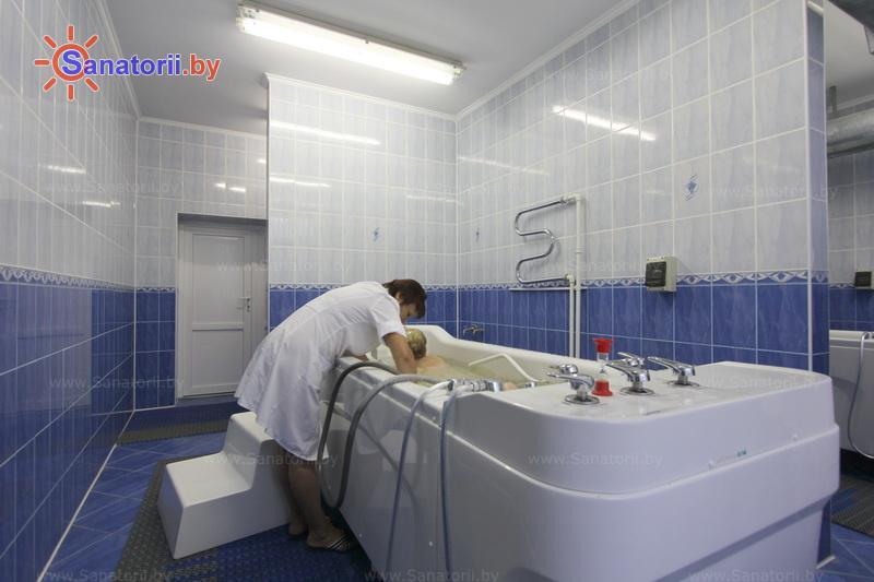 Санатории Белоруссии Беларуси - санаторий Белая вежа - Душ-массаж подводный