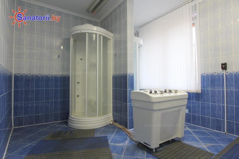 Санатории Белоруссии Беларуси - санаторий Белая вежа - Душ лечебный