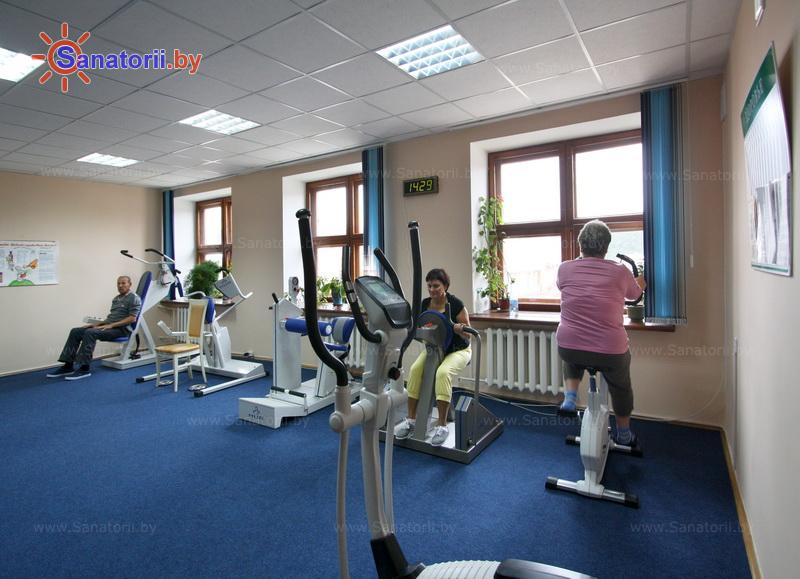 Санатории Белоруссии Беларуси - санаторий Белая вежа - Тренажерный зал (механотерапия)