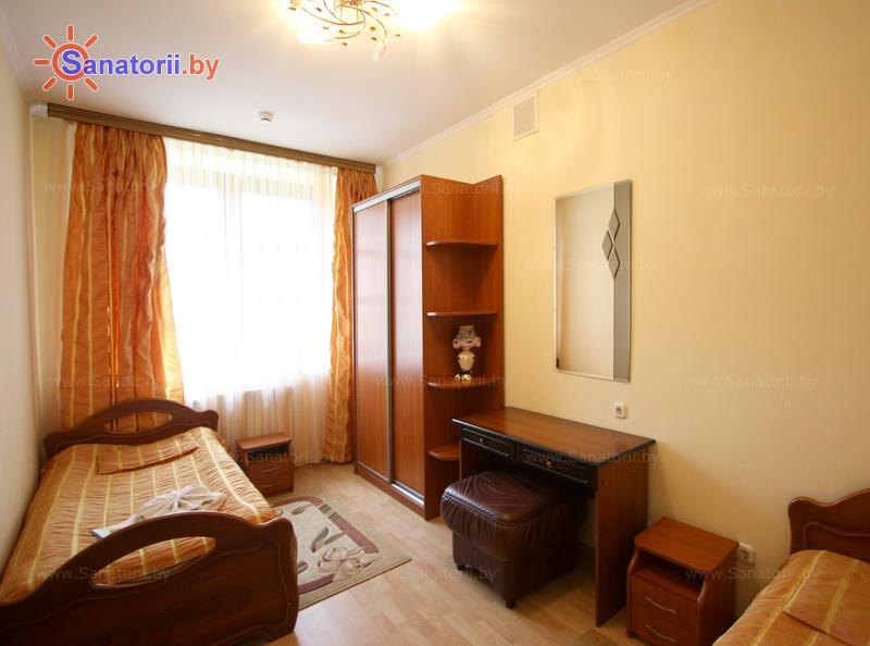 Санатории Белоруссии Беларуси - санаторий Белая вежа - двухместный двухкомнатный люкс (спальный корпус №2)