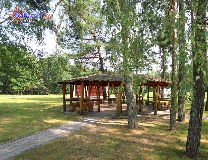 Санатории Белоруссии Беларуси - санаторий Белая вежа - Площадка для шашлыков