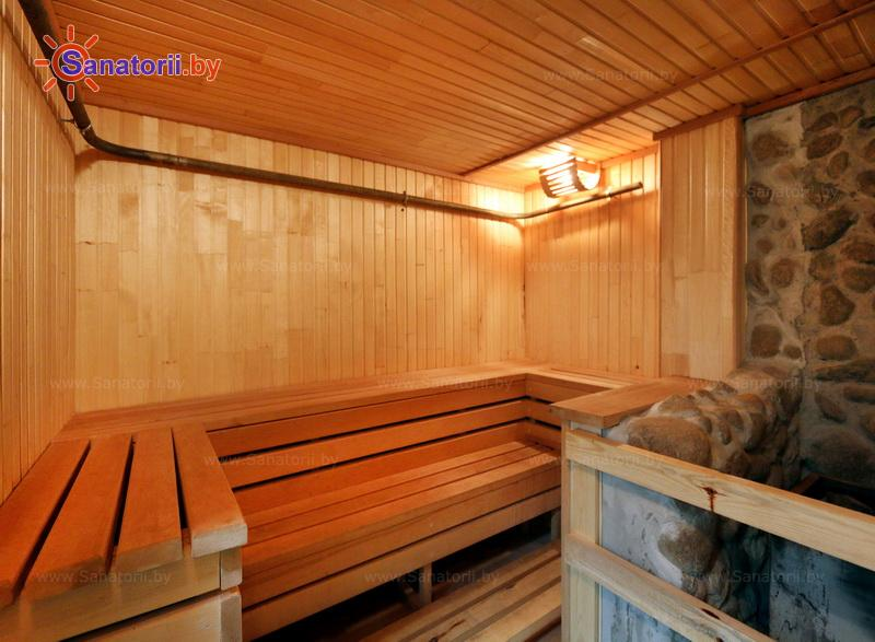 Санатории Белоруссии Беларуси - санаторий Белая вежа - Сауна финская