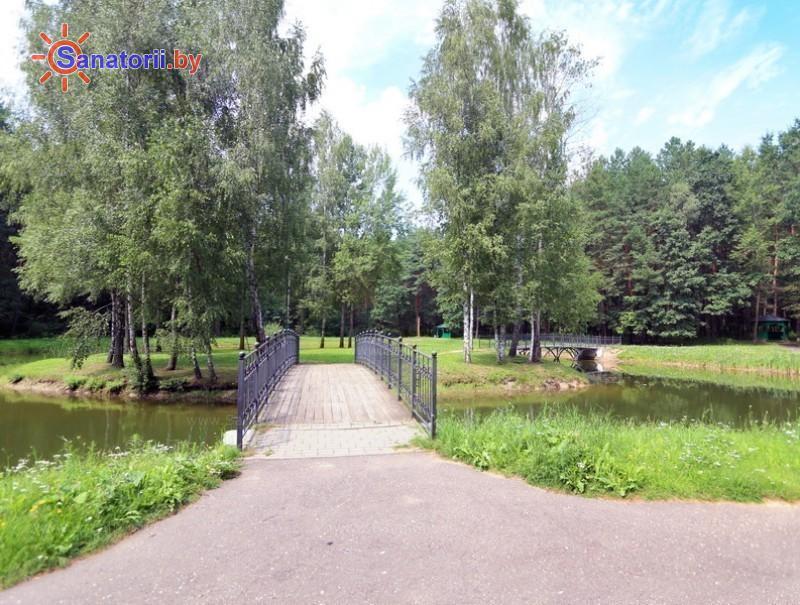 Санатории Белоруссии Беларуси - санаторий Белая вежа - Водоём