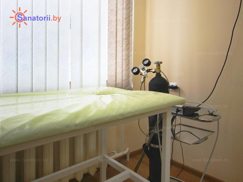 Санатории Белоруссии Беларуси - санаторий Белая вежа - Карбокситерапия (газовые уколы)
