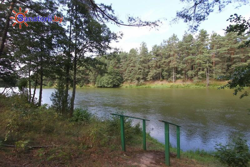 Санатории Белоруссии Беларуси - санаторий Вяжути - Водоём