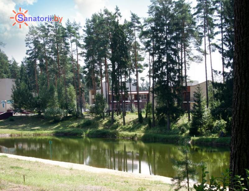 Санатории Белоруссии Беларуси - санаторий Вяжути - Территория и природа