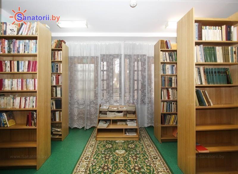 Санатории Белоруссии Беларуси - санаторий Вяжути - Библиотека