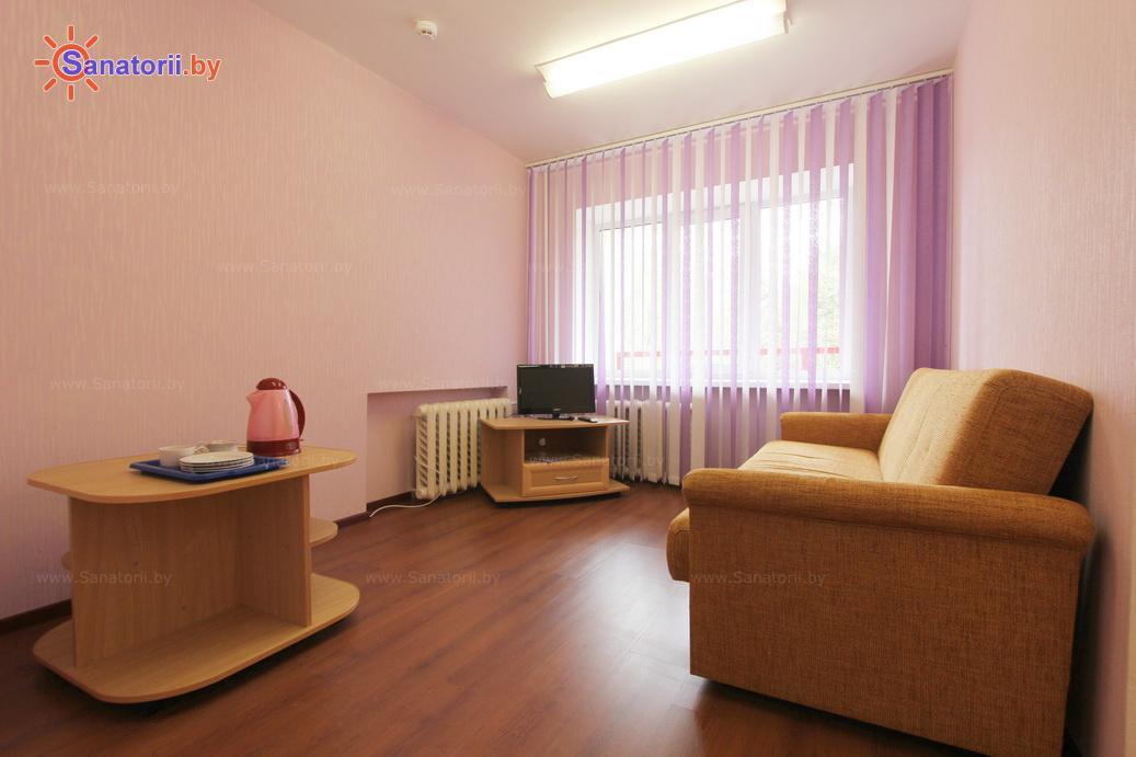 Санатории Белоруссии Беларуси - санаторий Сосны - двухместный двухкомнатный (корпус №2)