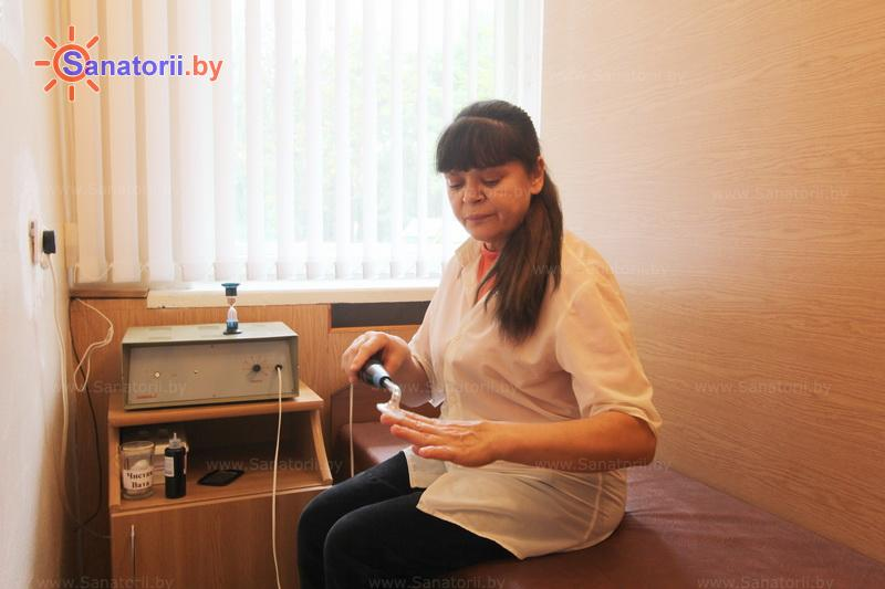 Санатории Белоруссии Беларуси - санаторий Сосны - Электролечение