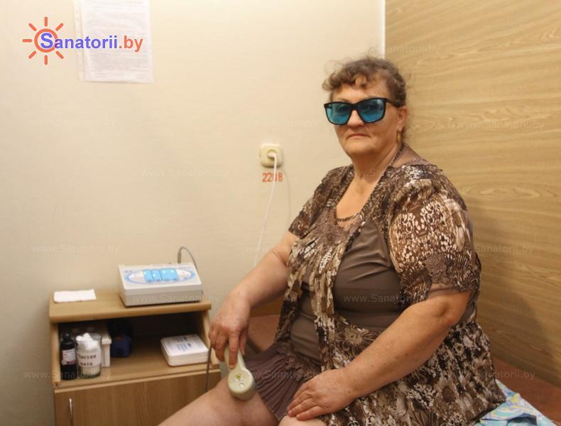 Санатории Белоруссии Беларуси - санаторий Сосны - Лазерная терапия