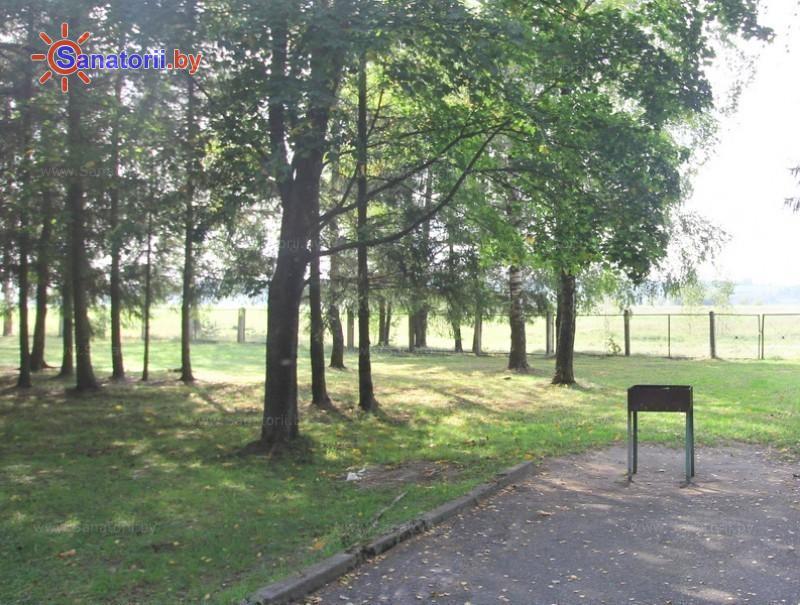 Санатории Белоруссии Беларуси - санаторий Сосны - Площадка для шашлыков