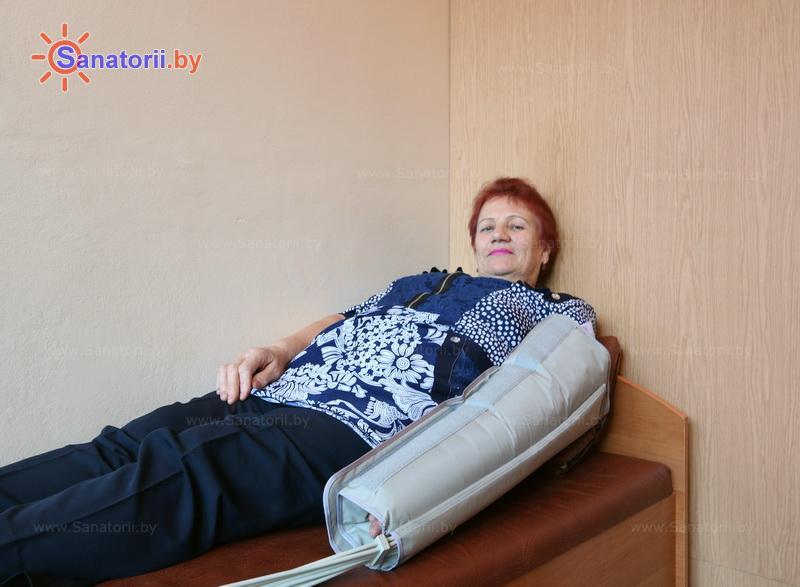 Санатории Белоруссии Беларуси - санаторий Сосны - Компрессионная терапия