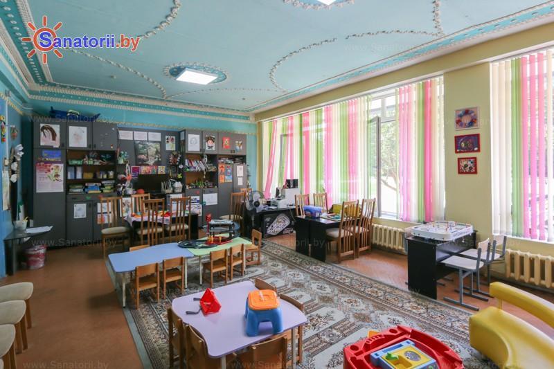 Санатории Белоруссии Беларуси - санаторий Сосны - Детская комната
