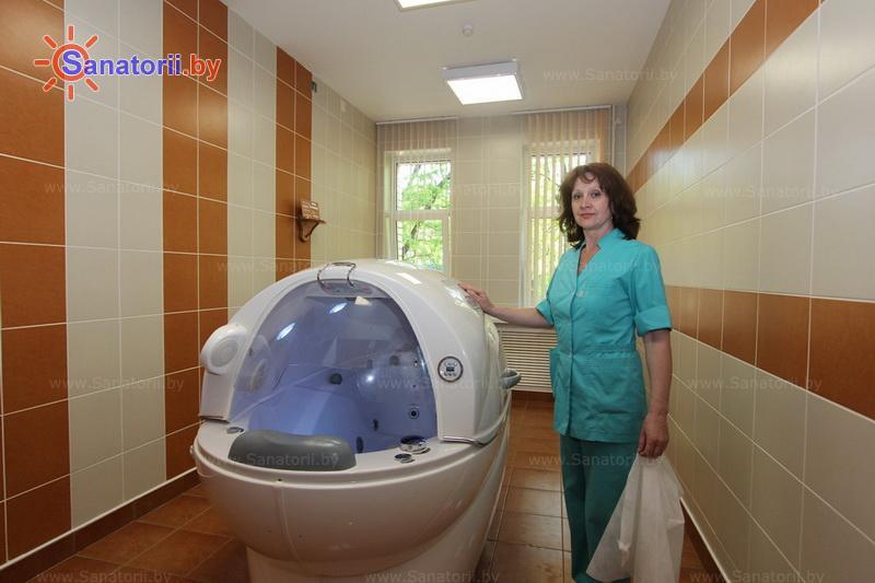 Санатории Белоруссии Беларуси - санаторий Жемчужина - Реабилитационная капсула (СПА-капсула)