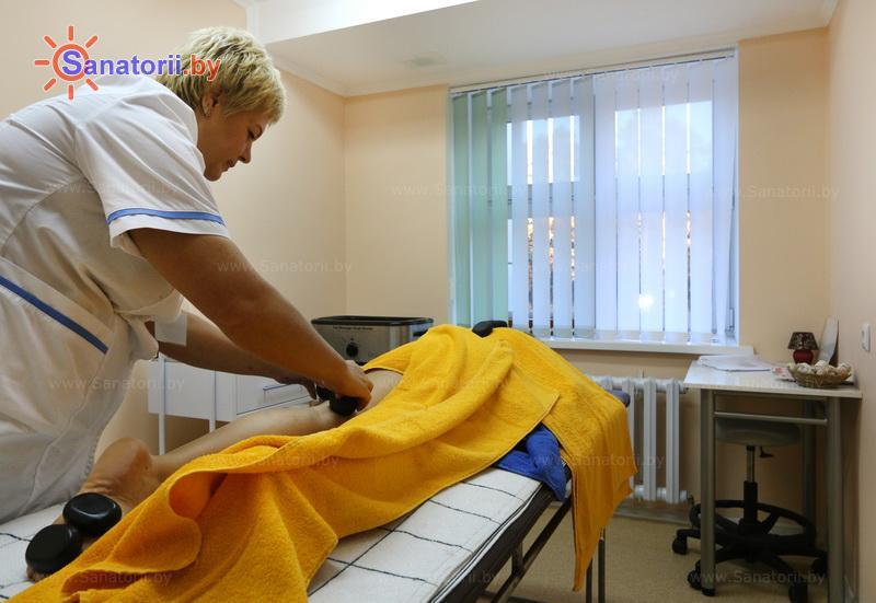 Санатории Белоруссии Беларуси - санаторий Жемчужина - Стоунтерапия (массаж камнями)