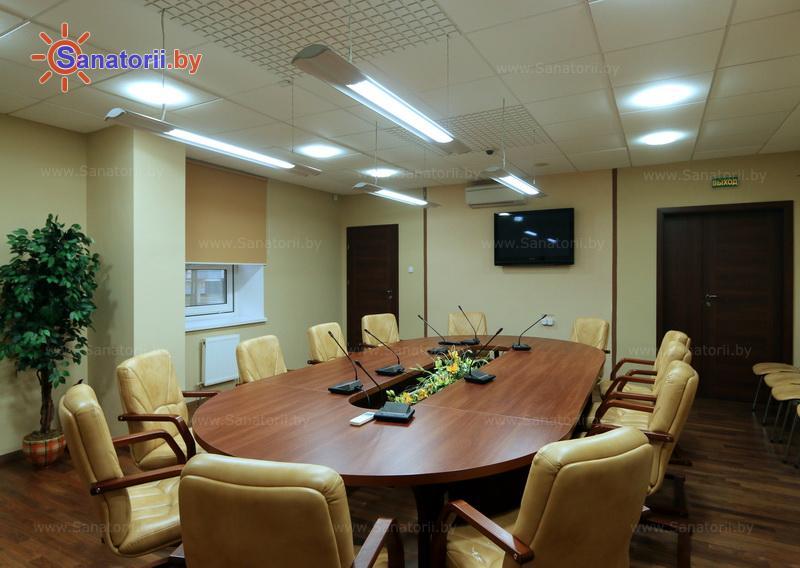 Санатории Белоруссии Беларуси - санаторий Жемчужина - Конференц-зал