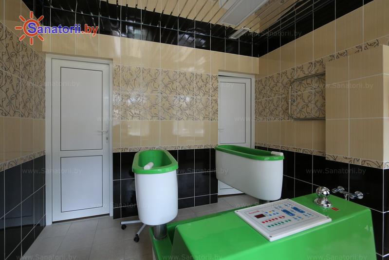 Санатории Белоруссии Беларуси - санаторий Жемчужина - Ванны гальванические четырехкамерные