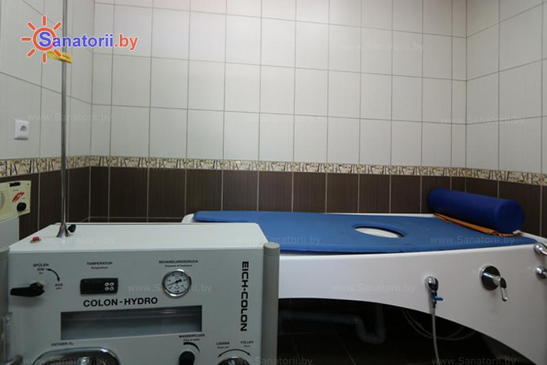 Санатории Белоруссии Беларуси - санаторий Жемчужина - Гидротерапия кишечника