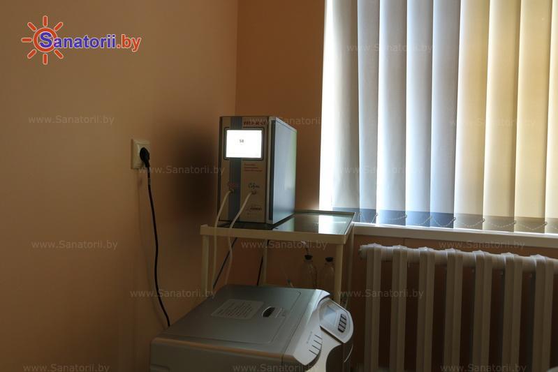 Санатории Белоруссии Беларуси - санаторий Жемчужина - Озонотерапия