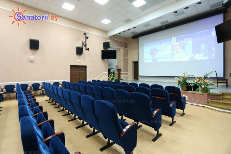 Санатории Белоруссии Беларуси - санаторий Жемчужина - Кинозал