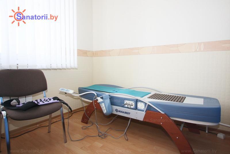 Санатории Белоруссии Беларуси - оздоровительный центр Энергия - Массаж аппаратный
