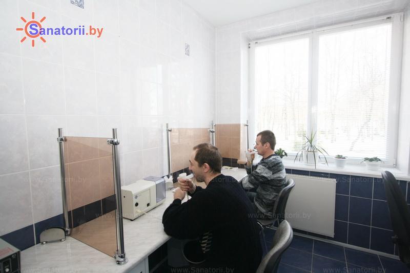 Санатории Белоруссии Беларуси - оздоровительный центр Энергия - Ингаляции (аэрозольтерапия)