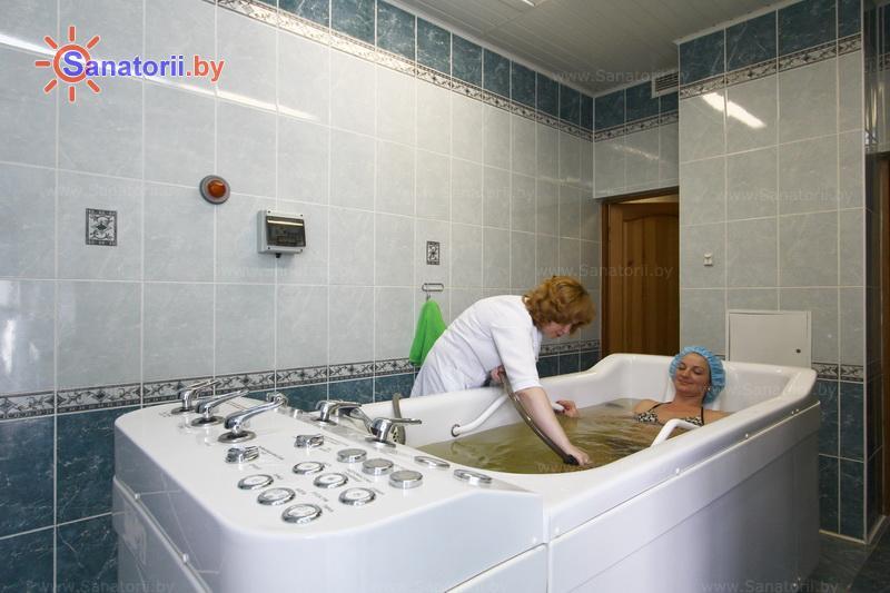 Санатории Белоруссии Беларуси - санаторий Ружанский - Душ-массаж подводный