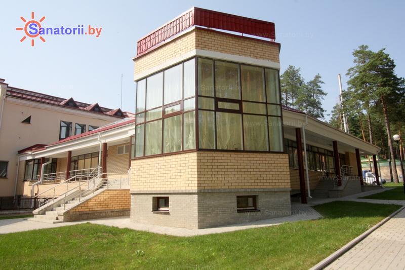 Санатории Белоруссии Беларуси - санаторий Ружанский - столовая-клуб