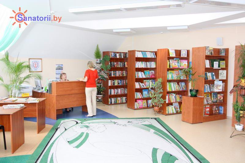 Санатории Белоруссии Беларуси - санаторий Ружанский - Библиотека