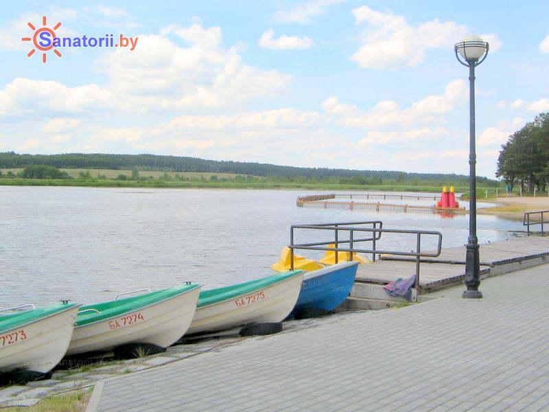 Санатории Белоруссии Беларуси - санаторий Ружанский - Прокат лодок