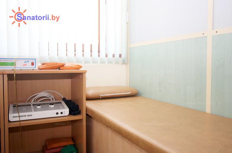 Санатории Белоруссии Беларуси - санаторий Ружанский - Электрогрязелечение (гальваногрязелечение)