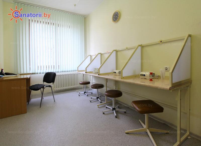 Санатории Белоруссии Беларуси - санаторий Ружанский - Ингаляции (аэрозольтерапия)