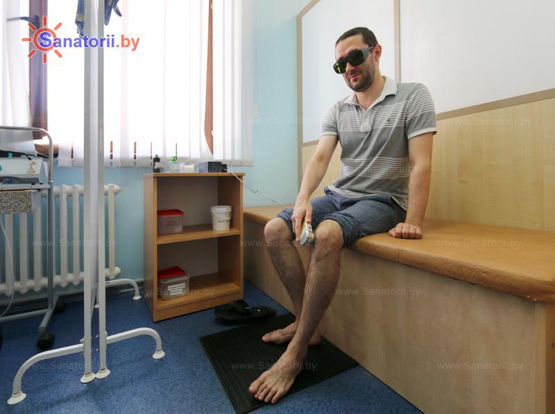 Санатории Белоруссии Беларуси - санаторий Ружанский - Лазерная терапия