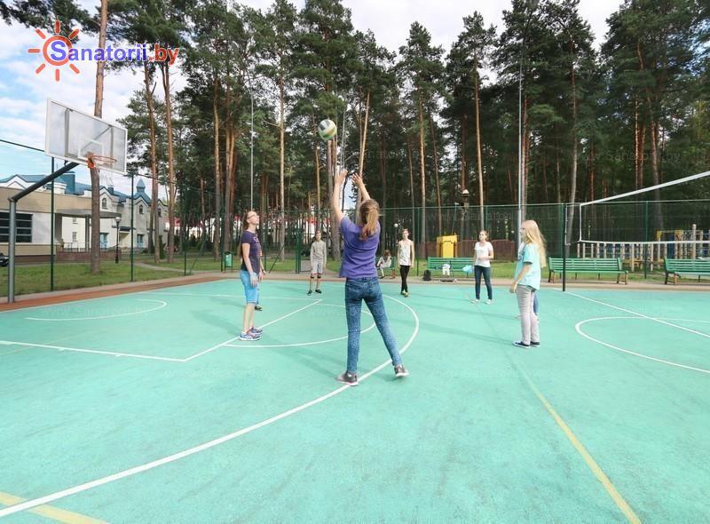 Санатории Белоруссии Беларуси - санаторий Ружанский - Спортплощадка