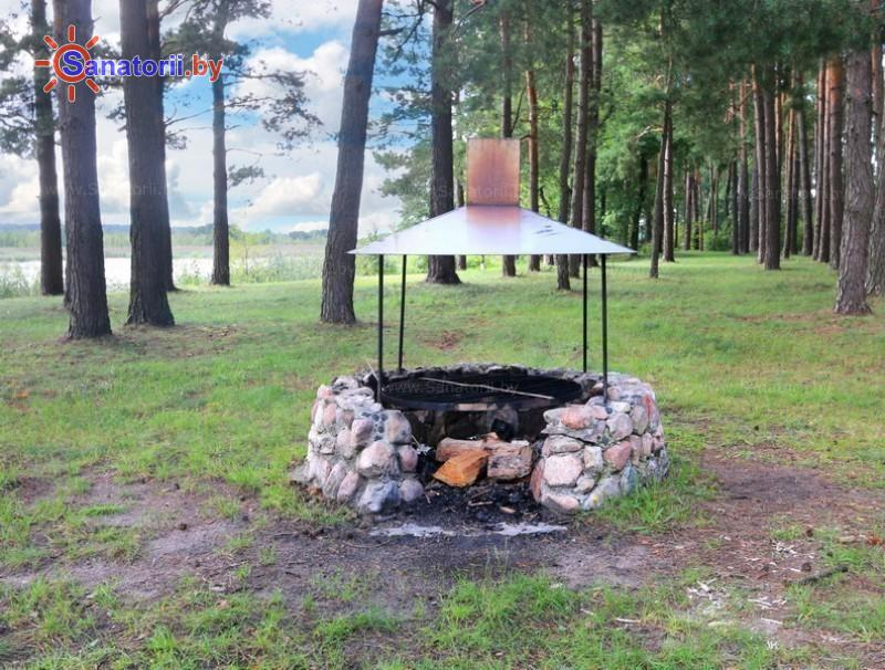 Санатории Белоруссии Беларуси - санаторий Ружанский - Площадка для шашлыков