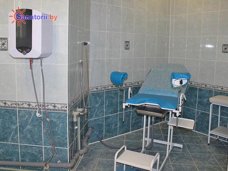 Санатории Белоруссии Беларуси - санаторий Ружанский - Орошения вагинальные минеральной водой