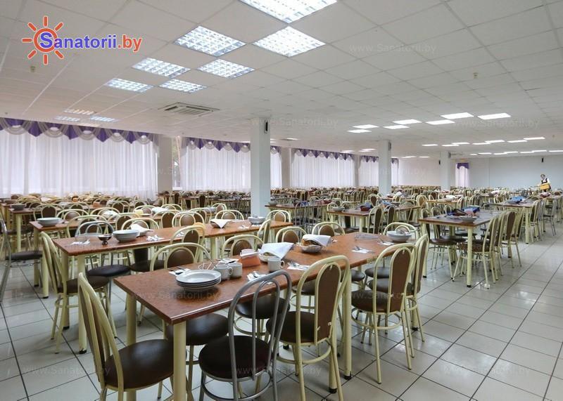 Санатории Белоруссии Беларуси - ДРОЦ Колос - Столовая
