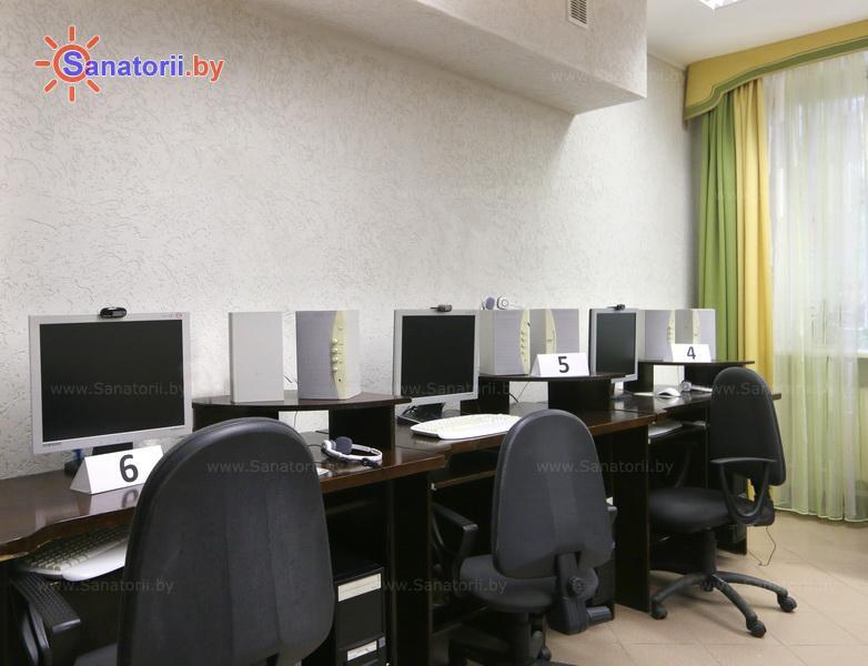 Санатории Белоруссии Беларуси - ДРОЦ Колос - Интернет