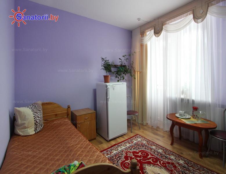 Санатории Белоруссии Беларуси - ДРОЦ Колос - двухместный однокомнатный повыш. комфортности (спальные корпуса № 2, 3)