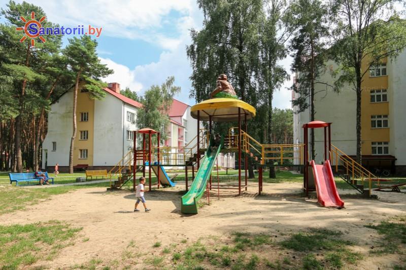 Санатории Белоруссии Беларуси - ДРОЦ Колос - Детская площадка