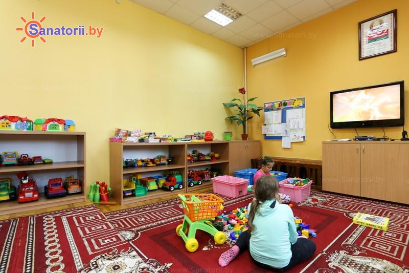 Санатории Белоруссии Беларуси - ДРОЦ Колос - Детская комната
