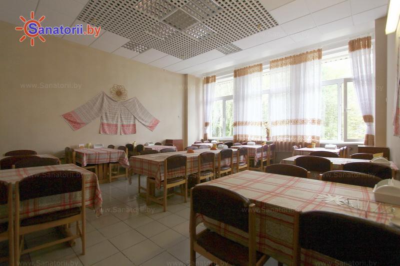 Санатории Белоруссии Беларуси - ДРОЦ Ждановичи - Столовая