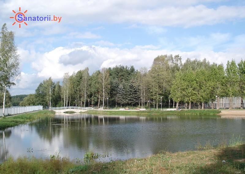 Санатории Белоруссии Беларуси - ДРОЦ Ждановичи - Водоём
