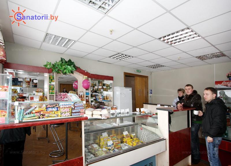 Санатории Белоруссии Беларуси - ДРОЦ Ждановичи - Кафе